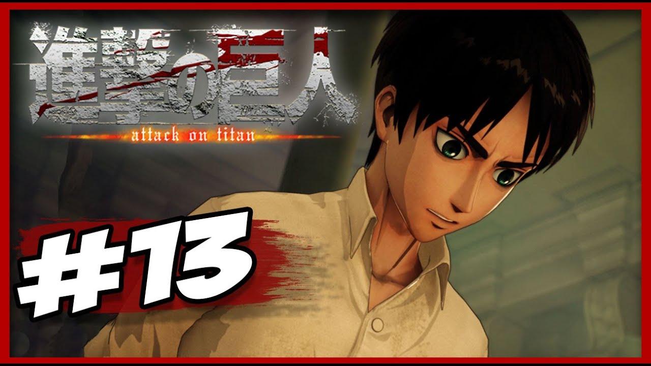 Attack On Titan PS4 - Story Mode #13 - O JULGAMENTO!! [PT ...