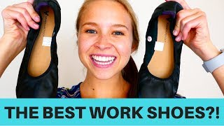 Best Shoes For Work?!   Vivobarefoot Flats Review   Travel With Me!