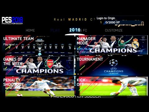 FIFA 14 Mod FIFA 18 UEFA Champions League Edition Android Offline New Squad Update New Face Update