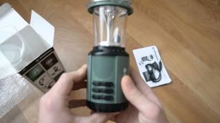 Фонарик Bresser Camping Solar lamp and Radio