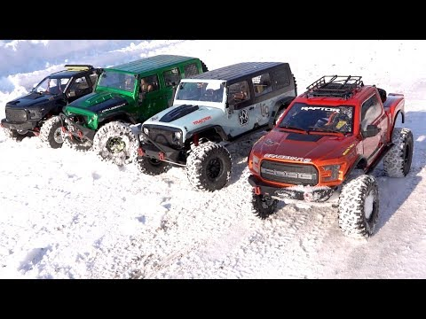 NEXT BIG THING: 1/8 scale Trail Trucks : BACKYARD TRAIL PARK - 4x4 Cragsman Crew | RC ADVENTURES