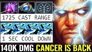 CANCER IS BACK! 1s CD 1725 Cast Range 140k DMG WTF Imba Zeus Top Vietnam Player Dota 2 Pro Gameplay
