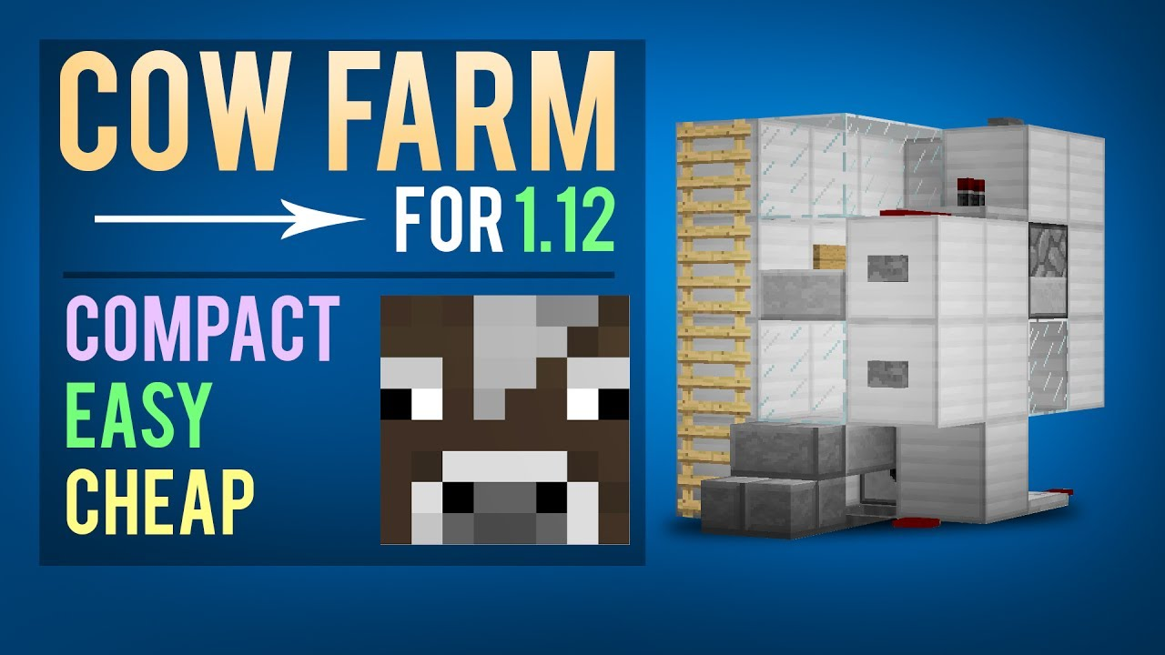 how to make a cow breeder minecraft 1.11.12