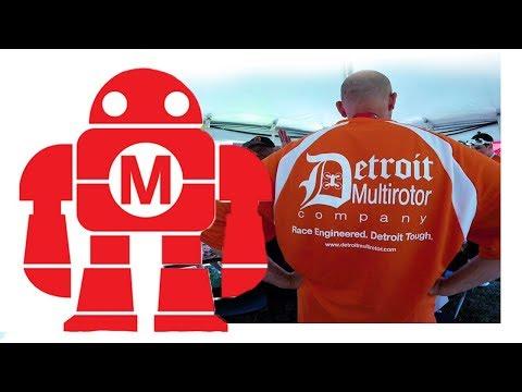 Drone Racing at Maker Faire Detroit