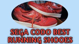 sega codo running shoes
