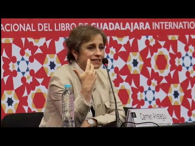 FIL 2016   Carmen Aristegui conversa con jóvenes