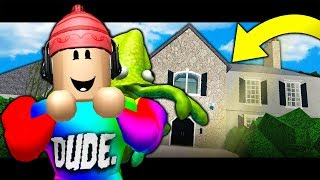 MOVING INTO A MANSION! ( A Roblox Bloxburg Roleplay Story)