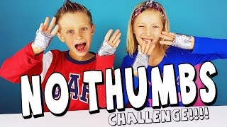 NO THUMBS Challenge / RonaldOMG and GamerGirl