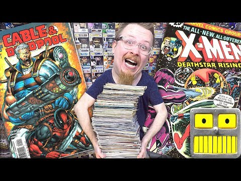 Epic Comic Book Collection Haul Bronze Age Ebay Mystery Box Unboxing Key Issue Finds Video 4 13 2018