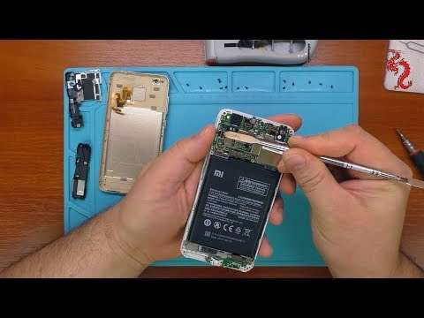 XIAOMI REDMI 4X //РАЗБОР смартфона, ПРОБЛЕМА с сетью// Посылка от подписчика