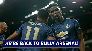Pogba & Martial: Back To Bully Arsenal   Arsenal v Manchester United Tactical Preview
