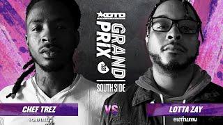 KOTD - Rap Battle - Chef Trez vs LottaZay   #GP2020