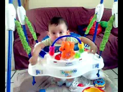 Bebe en brincolin youtube for Adornos para pieza de bebe