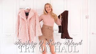 AUTUMN TOPSHOP & RIVER ISLAND TRY ON HAUL ~ Autumn Fashion Edit ~ Freddy My Love