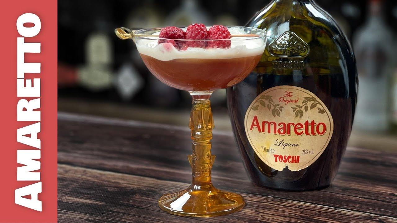 Amaretto Cocktails - A VERY Tropical Martini!