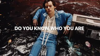 Do You Know Who You Are - Harry Styles (LEAK) snippet.