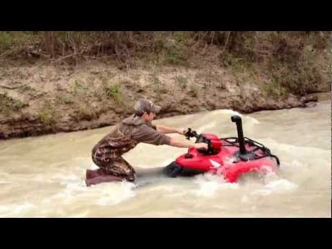Riding at the comite river