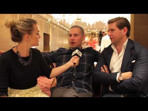 Downton Abbey Season 4 - Rob James Collier & Allen Leech Interview