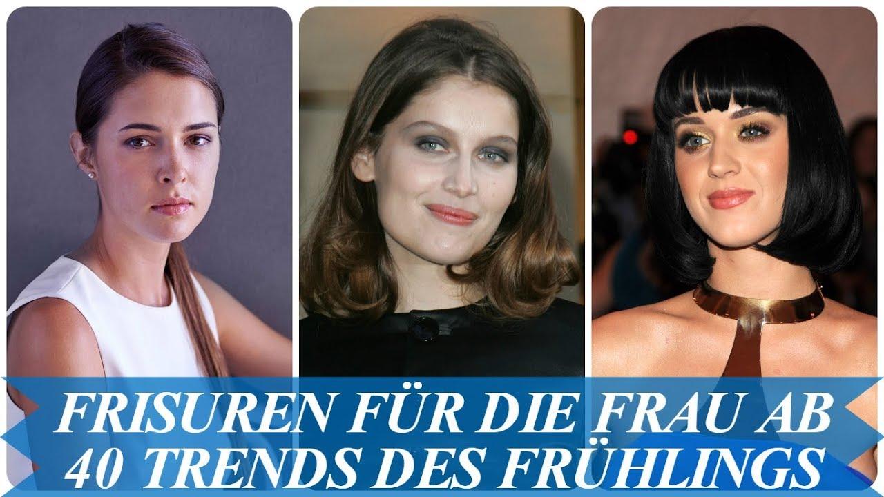 Unsere Top 20 Frisuren Für Die Frau Ab 40 Trends Des Frühlings 2018