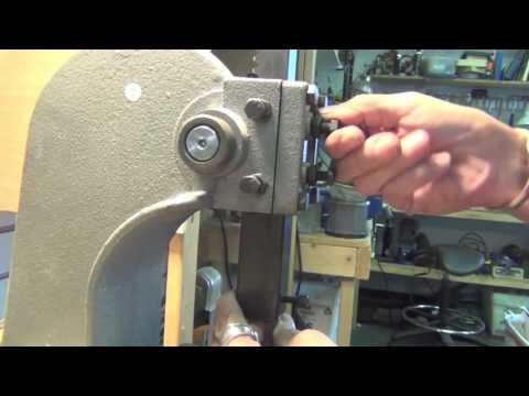 Metal Stamping Tool for the arbor press