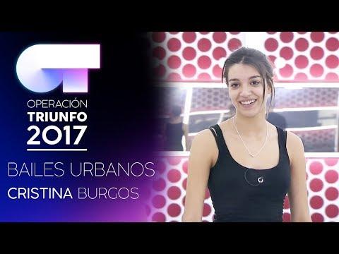 Clase de BAILES URBANOS con Cris Burgos (17 ENE) | OT 2017