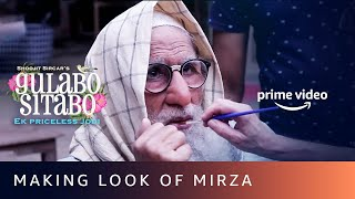 Making look of Mirza for Amitabh Bachchan | Gulabo Sitabo | Shoojit Sircar, Ronnie Lehri | June 12