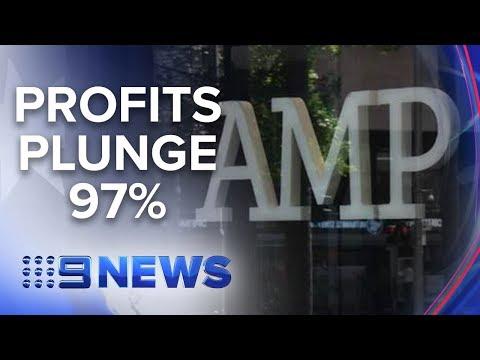 Revelations at banking Royal Commission spark AMP's profit to plummet | Nine News Australia