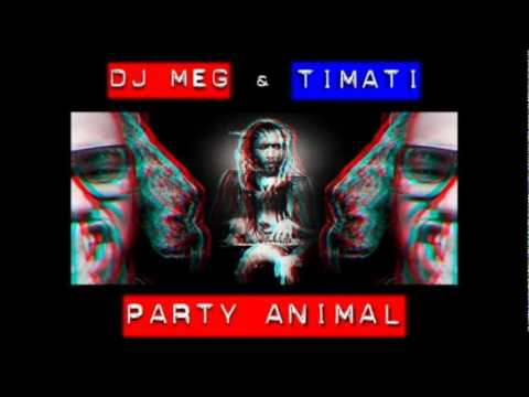 Timati ft. DJ M.E.G . - Party Animal (Mike Candys Remix)