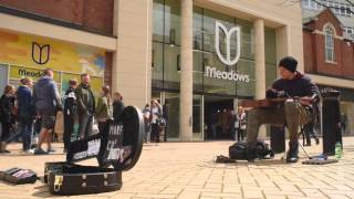 Amazing Guitar Busker!!! Morf, Live in Chelmsford, UK