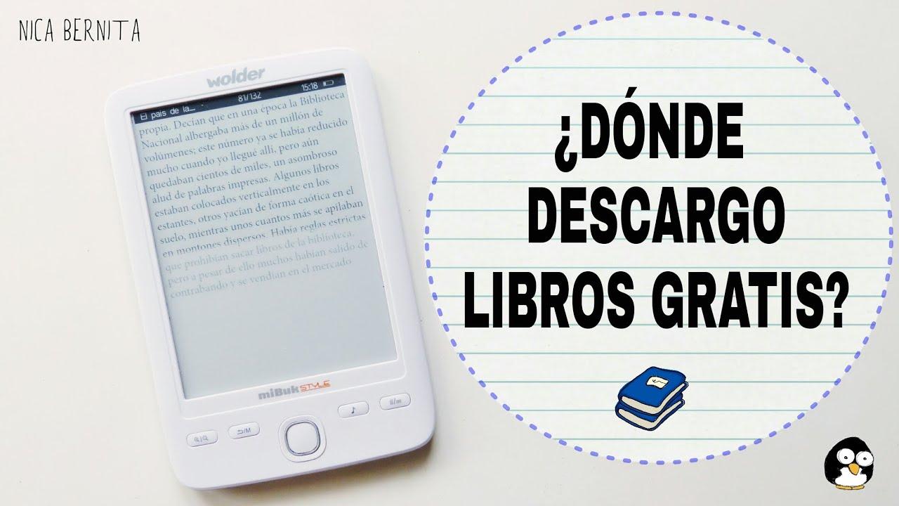 DESCARGAR LIBROS GRATIS Y De Forma Legal. Apps Y Webs De