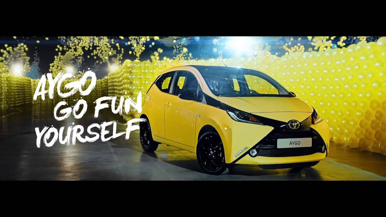 toyota aygo - the colour maze - youtube