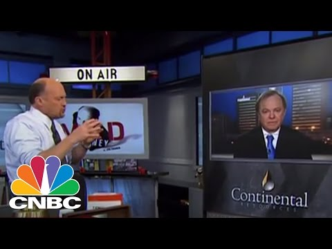 Continental Resources CEO Harold Hamm | Mad Money | CNBC