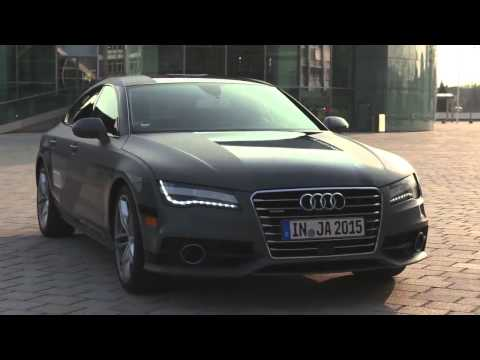 Audi A7 2015 TEST DRIVE - Piloted driving concept new