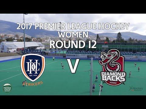 Derwent v Diamondbacks   Women Round 12   Premier League Hockey 2017