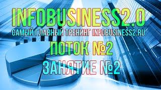 Инфобизнес 2.0 Занятие 02. Тема и ниша (12.08.2014) [Вебинары]