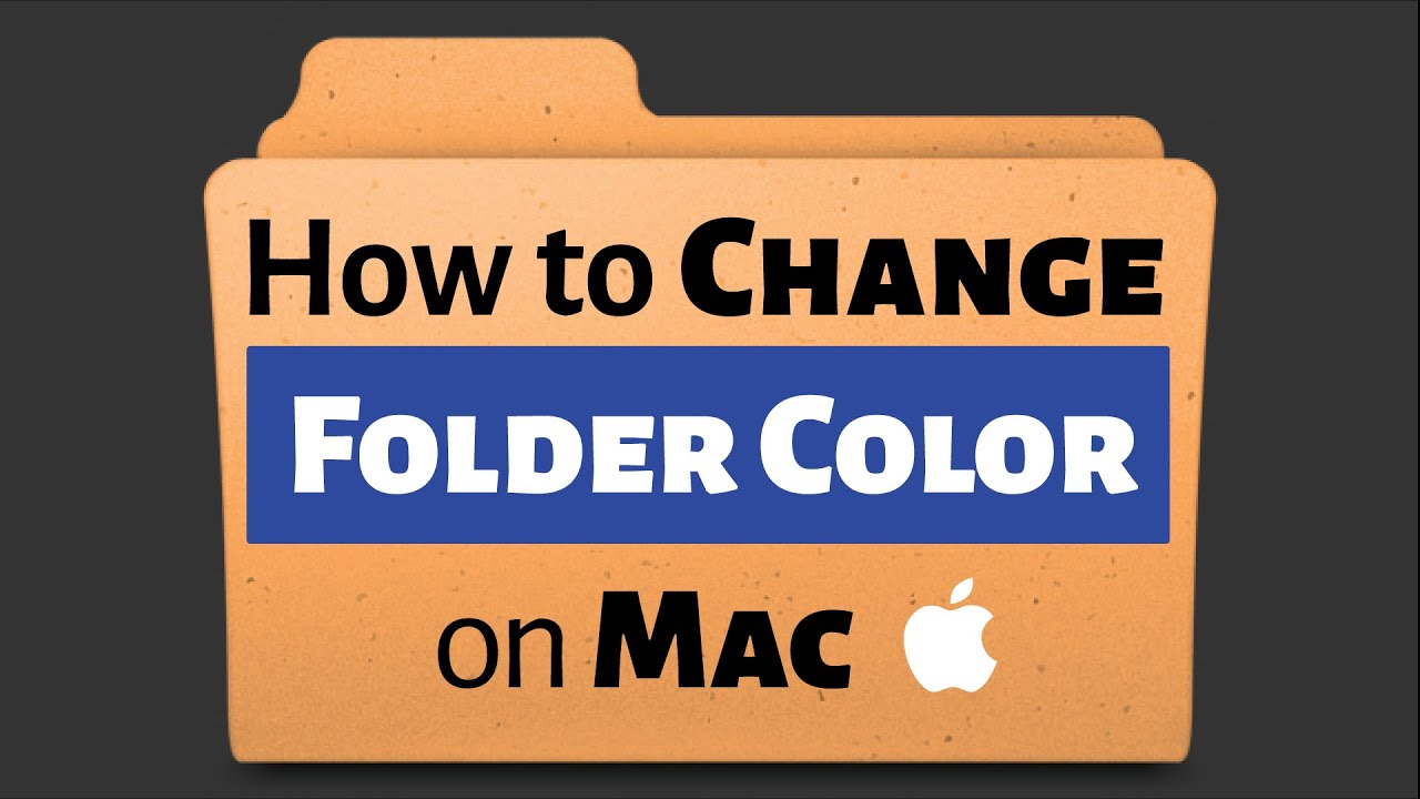 how to make the folders on a mac stay
