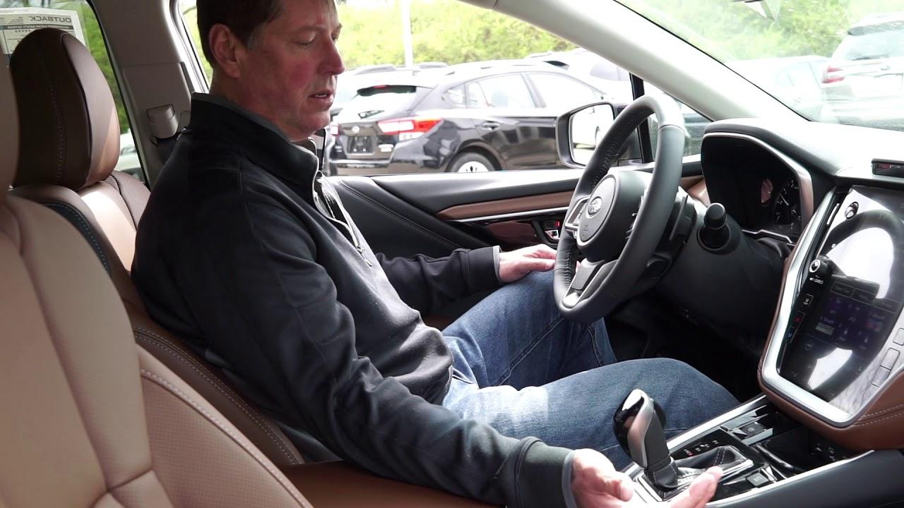 Shift Selector and Paddle shifter - 2020 Subaru Outback Touring XT -
