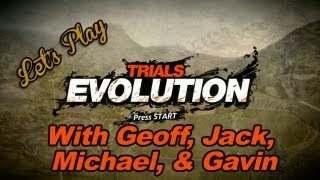 Let's Play - Trials Evolution with Geoff, Jack, Michael, and Gavin | Rooster Teeth thumbnail