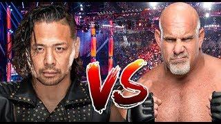 Shinsuke Nakamura vs Goldberg