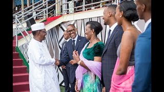 KAGAME & FAMILY BID FAREWELL TO INAUGURATION GUESTS