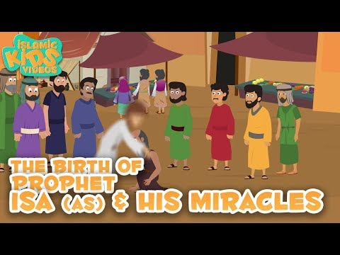 Prophet Stories for Kids in English | Prophet Isa (AS) Part-2 | Islamic Kids Stories With Subtitles
