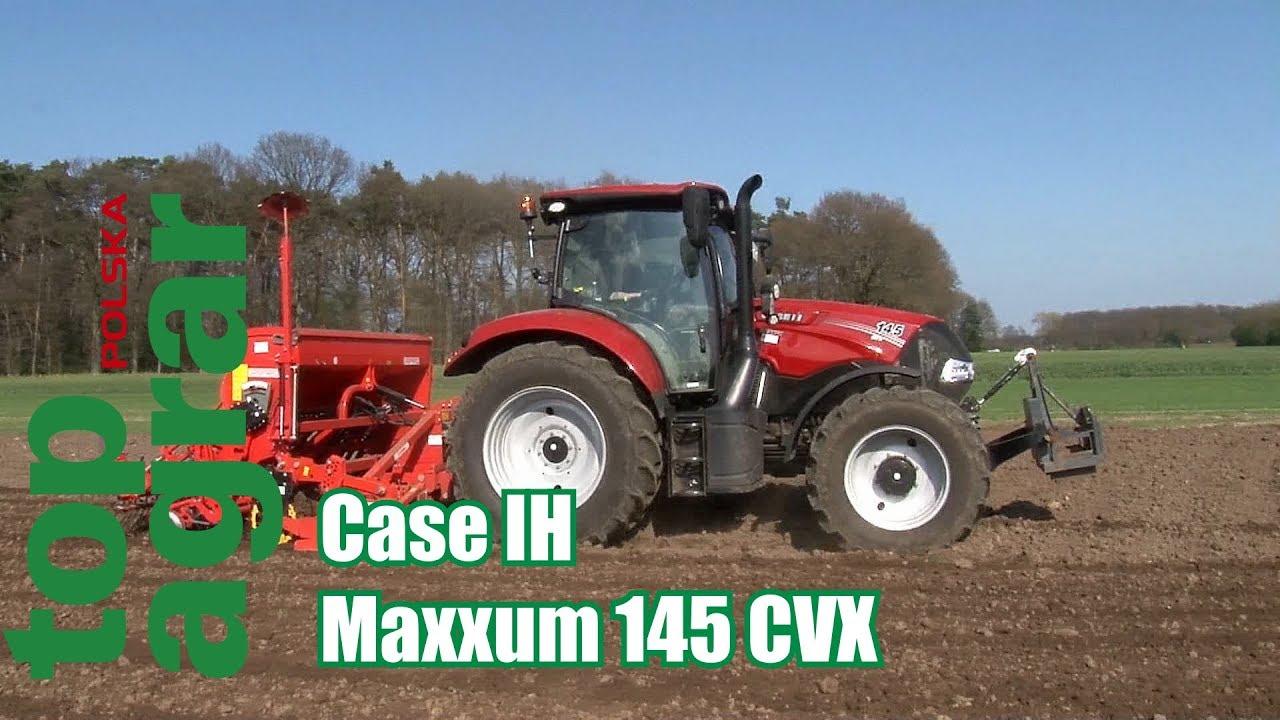 Case IH Maxxum 145 CVX – test ciągnika