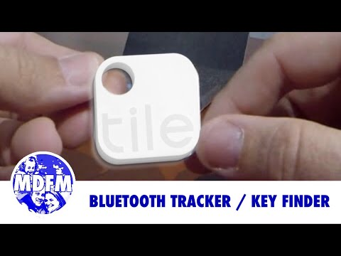 Tile Bluetooth Key Finder Lost And Found Youtube