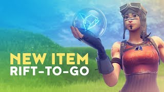 NEW RIFT-TO-GO's ADDED TO THE GAME - NEW 1x1 MOVE WITH IT! (Fortnite Battle Royale)