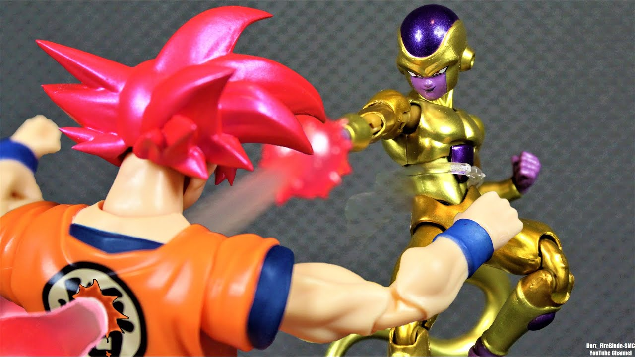 SH Figuarts Golden Frieza Dragon Ball Super Stop Motion Review