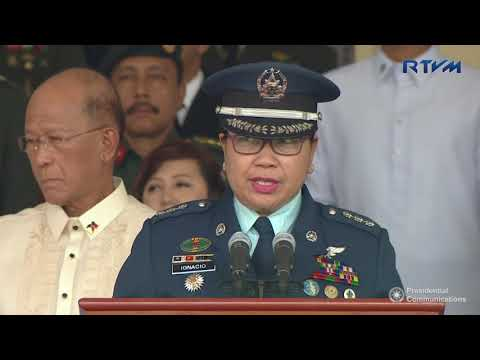 Armed Forces of the Philippines (AFP) Change of Command Ceremony