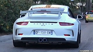 porsche 991 gt3 with ipe innotech titanium exhaust loud sound