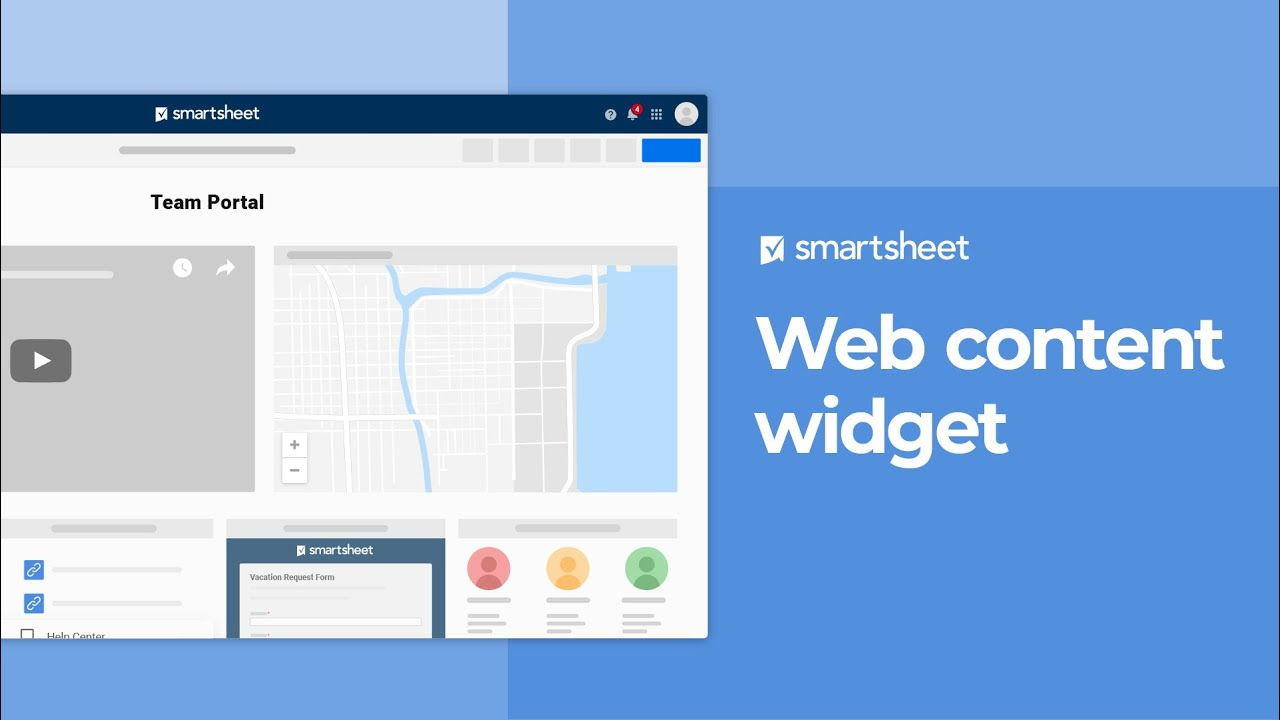 Dashboards and Portals | Smartsheet Learning Center