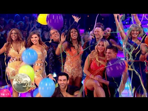 The cast of Strictly 2017 dance to Footloose - Strictly Come Dancing 2017: Launch