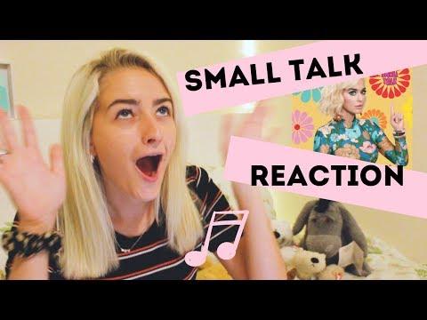 Small Talk - Katy Perry REACTION